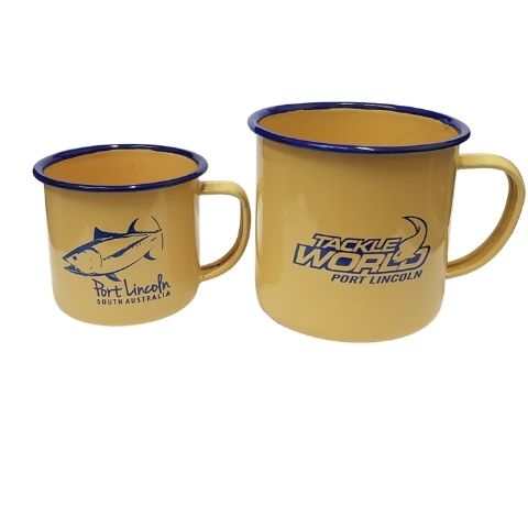 Enamel Mugs Printed