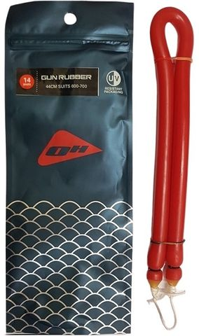 Ocean Hunter Gun Rubber 14mm - 61cm RED