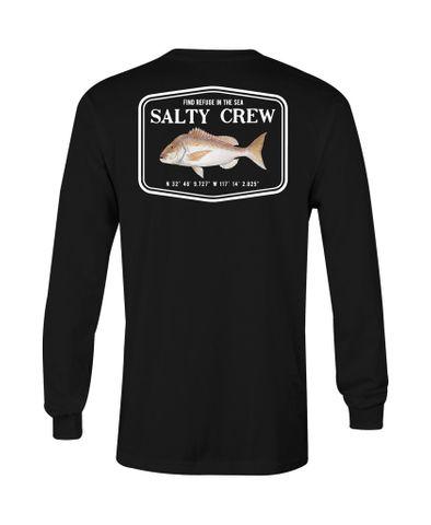 Salty Crew Snapper Mount L/S Tee S