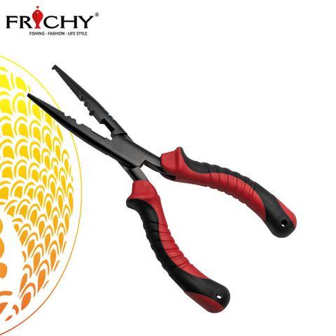 "Fichy Teflon Split Ring Pliers 9"" S/Nose"
