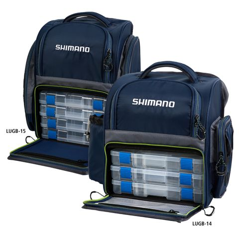 Shimano Back Pack and Boxes