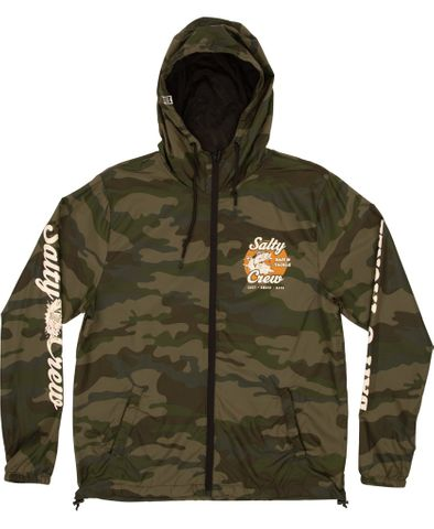 Salty Crew Bait & Tackle Windbreaker