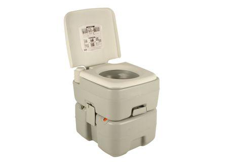 Wildtrak Deluxe Portable Toilet 20lt Grey