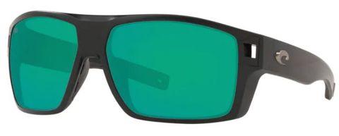 Costa Diego Matte Black Green Mirror 580G