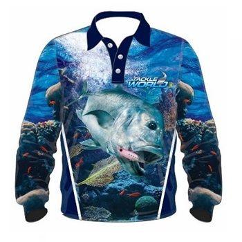 TW Fish Print Shirts - GT Boys