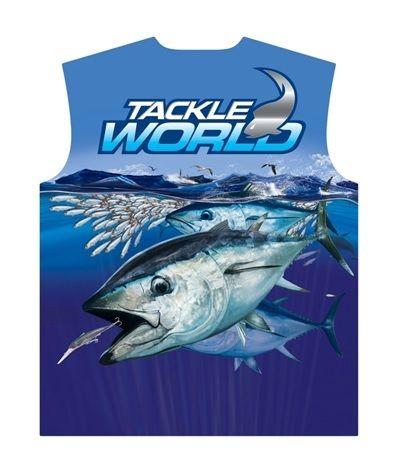 TW Fish Print Shirts - Bluefin Tuna Mens
