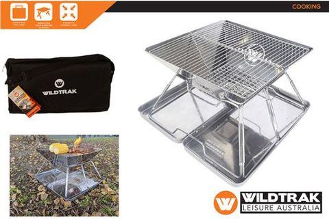 Wildtrak Frontier 360 S/Steel Fold BBQ Fire pit