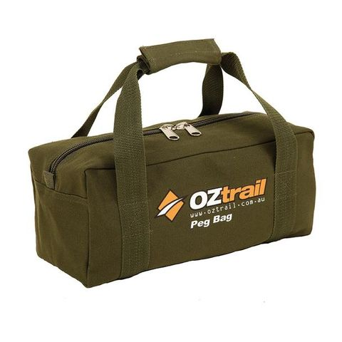 Oz Trail Canvas Peg Bag
