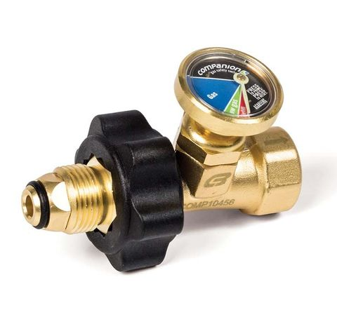Gas Safety Valve & Gauge POL