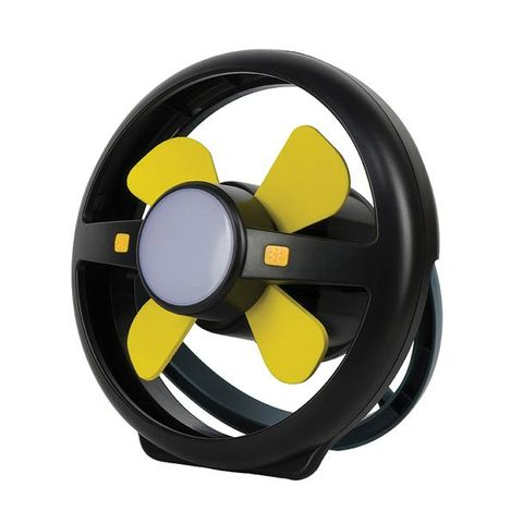Oz Trail  Portable Fan & Light Rechargeable