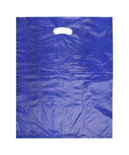LARGE BLUE HDPE DIE CUT BAGS