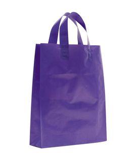 SMALL PURPLE MDPE SOFT LOOP BAGS/ EPI