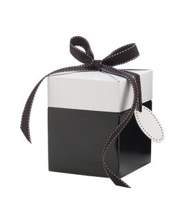 ECO POP-UP GIFT BOX SMALL BLACK