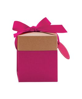 ECO POP-UP GIFT BOX SMALL PINK