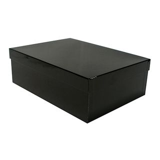 MOD RECTANGULAR BOX LARGE BLACK OUT