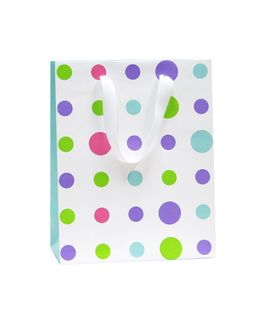 MANHATTAN BRIGHTS SMALL POLKA DOT