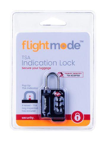 TSA 3 DIAL INDICATOR PADLOCK