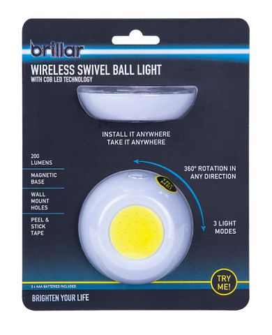 WIRELESS MAGNETIC BALL WITH COB LED