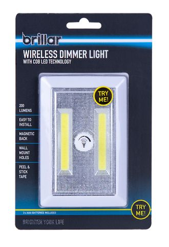 WIRELESS DIMMER LIGHT SWITCH WITH COB LE