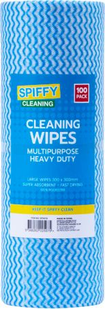 CLEANING WIPES MULIPURPOSE 100PK