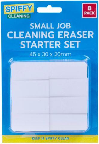 SM JOB CLEANING ERASER STARTER PACK 8PK