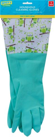 DELUXE LATEX HOUSEHOLD CLEANING GLOVES