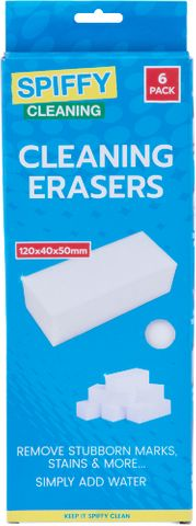 CLEANING ERASER 6PK