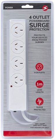 4 OUTLET POWERBOARD SP