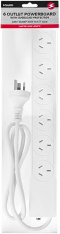 6 OUTLET POWERBOARD