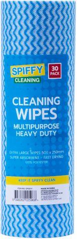 CLEANING WIPES MULIPURPOSE 30PK