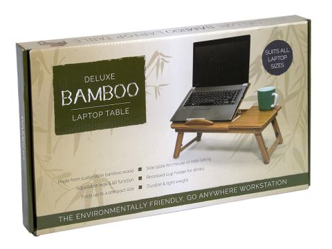 DELUXE BAMBOO LAPTOP TABLE (HO0099)