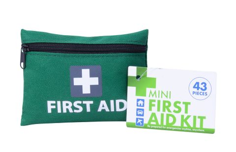 43PC MINI FIRST AID KIT