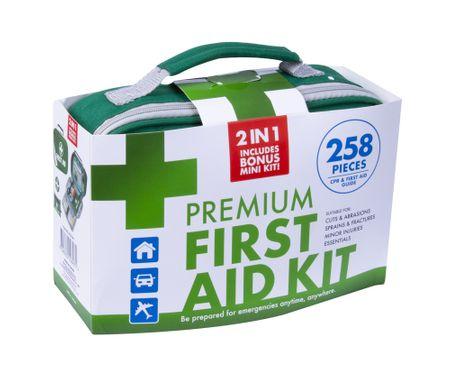 258PC PREMIUM FIRST AID KIT