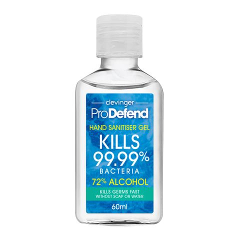 72% HAND SANITIZER 60ML