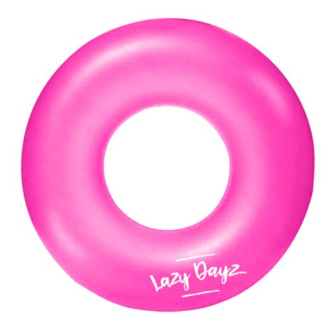 INFLATABLE SWIM RING - PINK