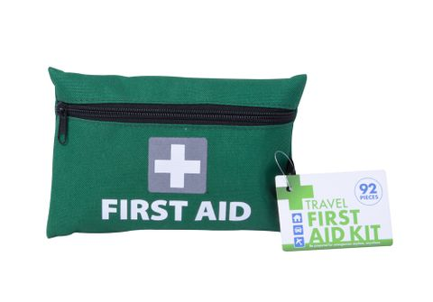 92PC TRAVEL FIRST AID KIT