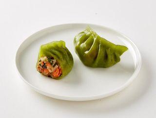 Green Vegetarian Dumpling (25pcs)1kg X 5