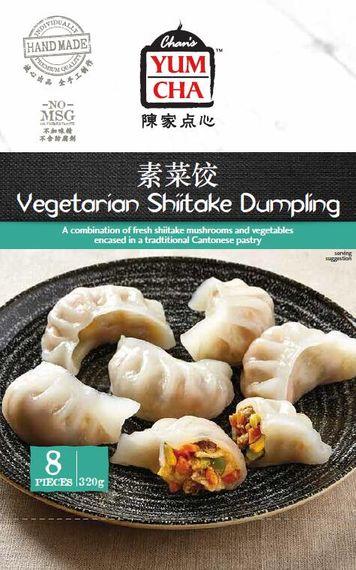 ARA04 Vege Shiitake Dumpling(8pcs)320gx6