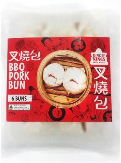 KOK BBQ Pork Bun (6pcs) 570g x 10