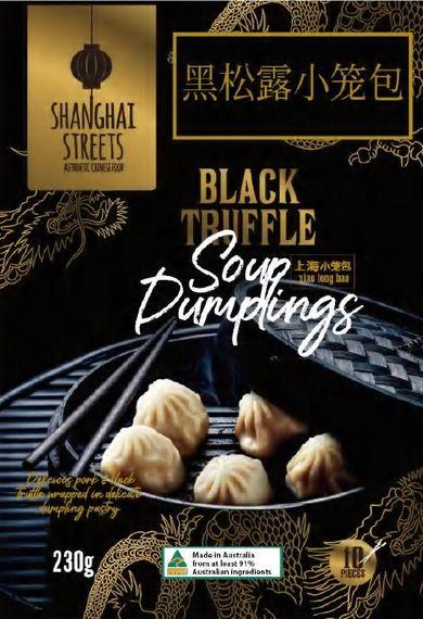 Black Truffle Soup Dumplings 10pcs x6