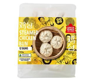 KOK Chicken  Bun 95gx(6x2tray)x6
