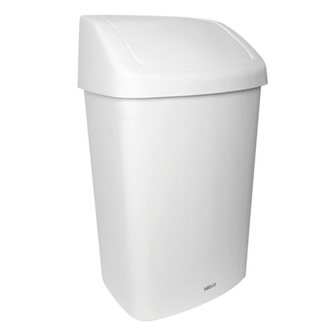 SWING TOP RUBBISH BIN