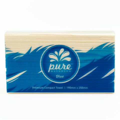 PURE WASHROOM BLUE PREMIUM COMPACT TOWEL