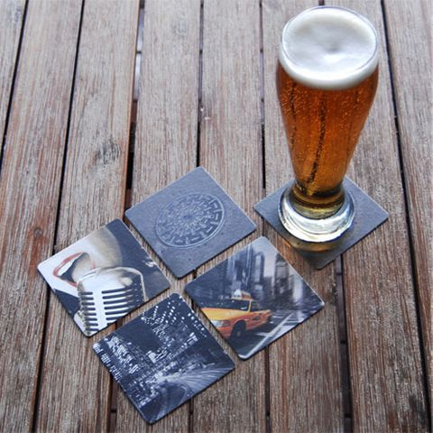 WOBBLY BOOT DRINK COASTER - CITY