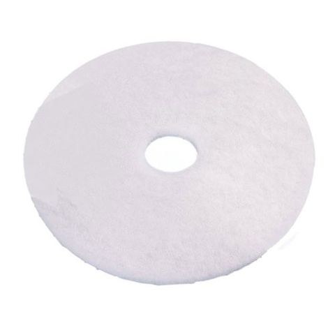 WHITE SUPER POLISH FLOOR PAD