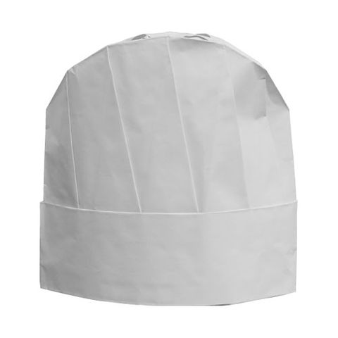 DISPOSABLE CHEF'S HAT - WHITE