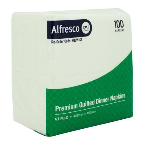 ALFRESCO PREMIUM QUILTED DINNER NAPKINS