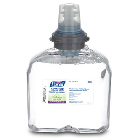 PURELL ANTISEPTIC HAND FOAM REFILL (TFX) - 1.2L