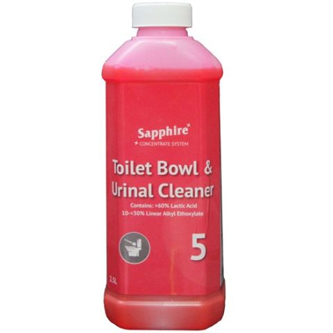 SAPPHIRE TOILET BOWL & URINAL CLEANER
