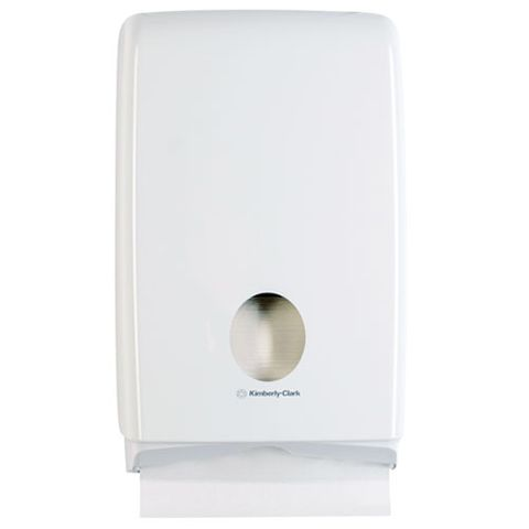 KIMBERLY-CLARK PROFESSIONAL AQUARIUS COMPACT HAND TOWEL DISPENSER